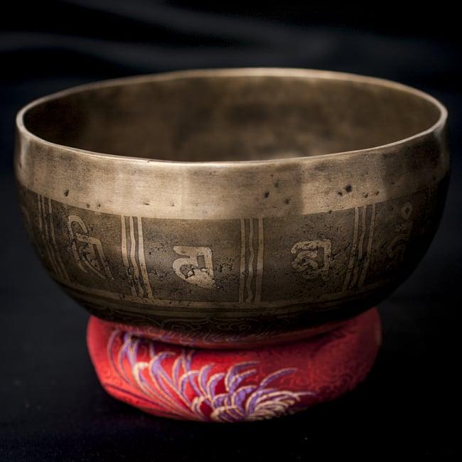 【一点物】チベタンシンギングボウル【音階:D】759g(スティック付属)の写真