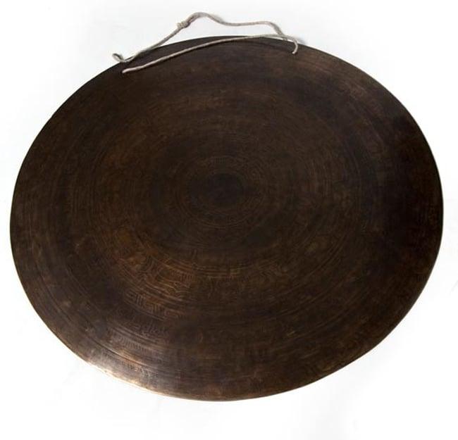 ブラスの銅鑼[54cm 4Kg]の写真