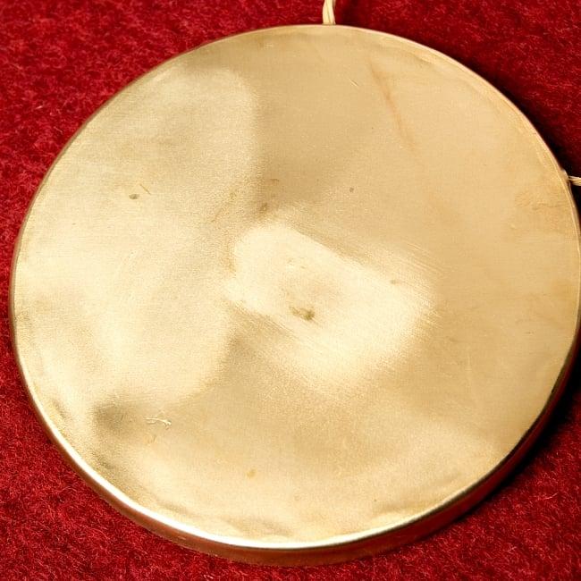 ベトナムのゴング(銅鑼)18cmの写真3 - キレイな金色です