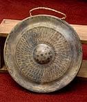 ベトナムのゴング(銅鑼)30cm