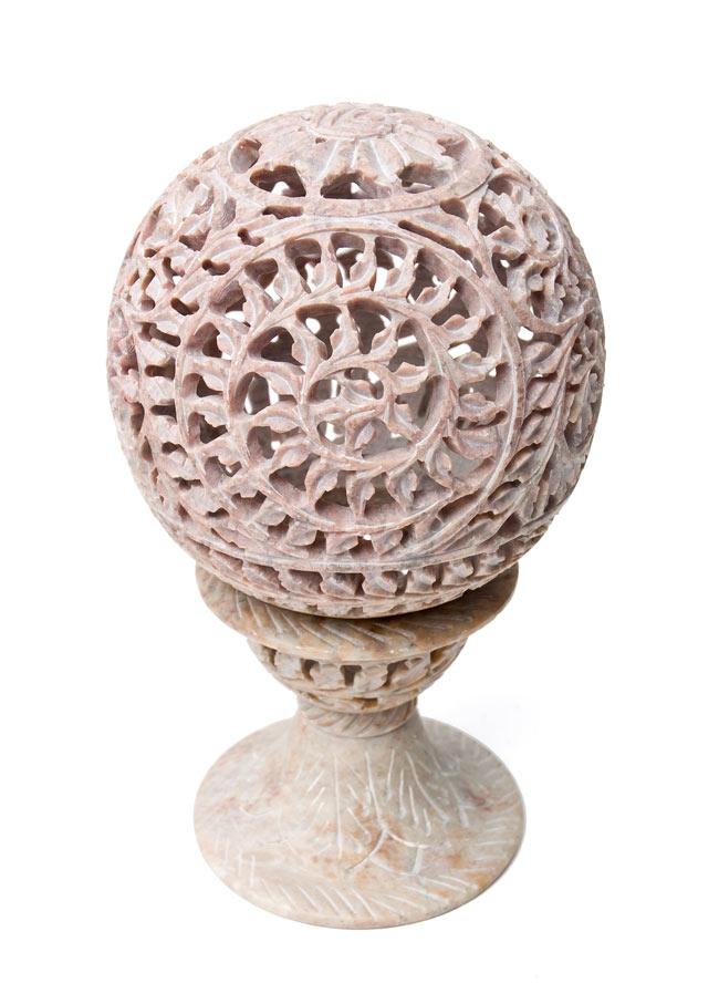 球形 - ソープストーンキャンドル&お香立ての写真6 - 【選択3】Cです。