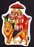 インドの神様のステッカー