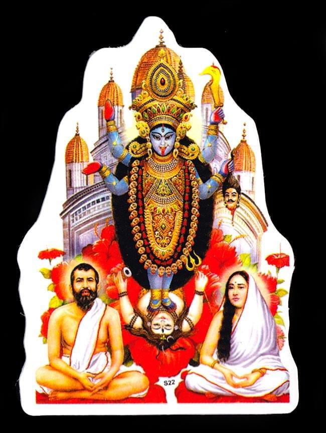 インドの神様のステッカーの写真