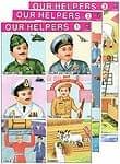 インドの教育ステッカー3枚セット 【インドの職業図鑑】