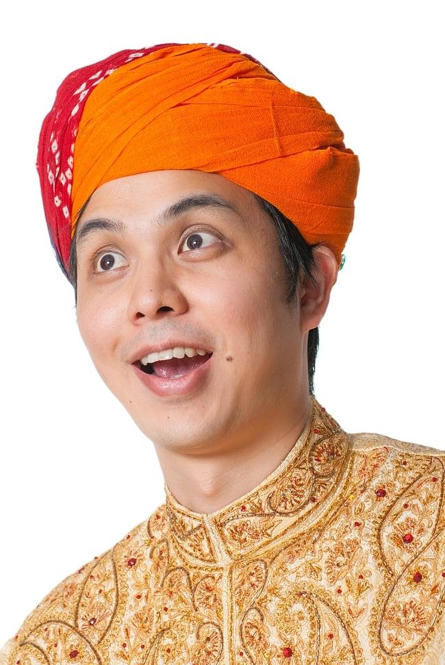 インド人になれる!ラジャスタンの本格ターバン 6 - インド人もビックリ!
