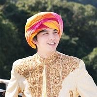 インド人になれる!ラジャスタンの本格カラフルターバン