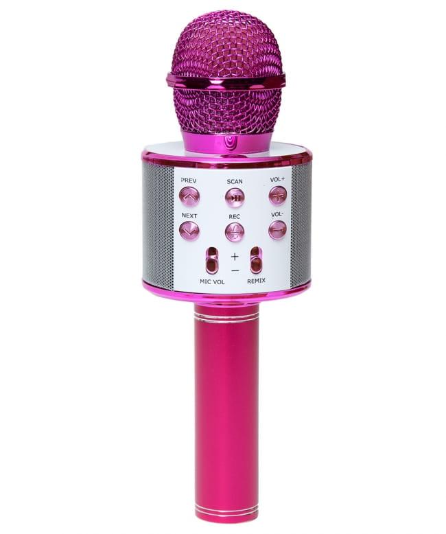 インドとアジアで大人気!! 万能カラオケマイク 7 - ピンク