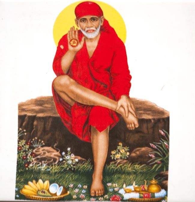 神様デコレーションタイル - シルディ・サイババの写真1