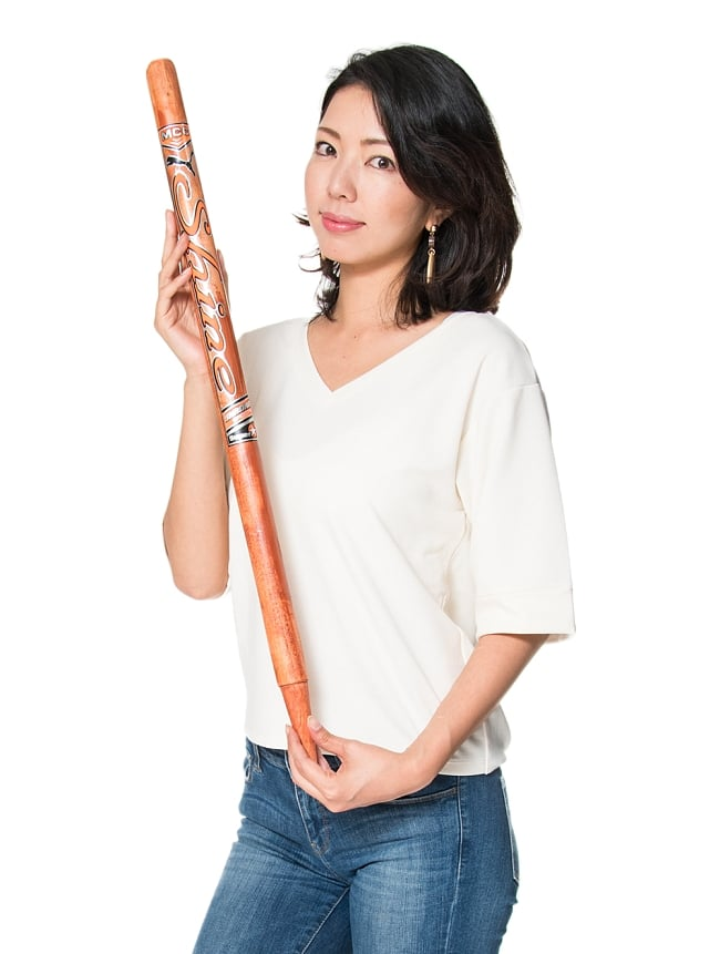 クリケットスタンプ -3本セット - 6 - これくらいのサイズ感です