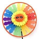 カラフルかざぐるま - 太陽