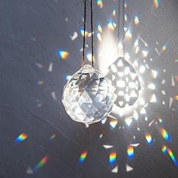 【30個セット】[40mm]太陽の光を集めるクリスタル サンキャッチャー お部屋に小さな虹を運ぶの写真