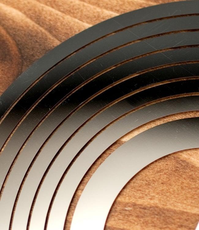 コスモスピナー 太陽で輝き風で動くモビール - ピースマークの写真4 - 別の角度からの写真です