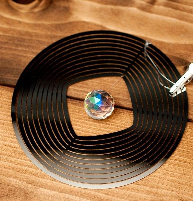 コスモスピナー 太陽で輝き風で動くモビール - ラウンドの写真3 - 拡大写真です