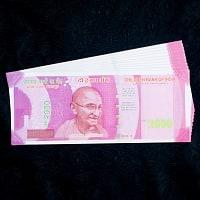 インドのこども銀行【2000ルピー札】