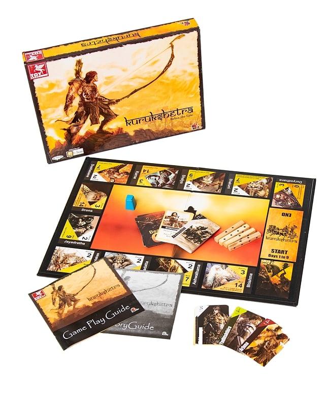 【ボードゲーム】マハーバーラタ  クルクシェートラの戦いの写真
