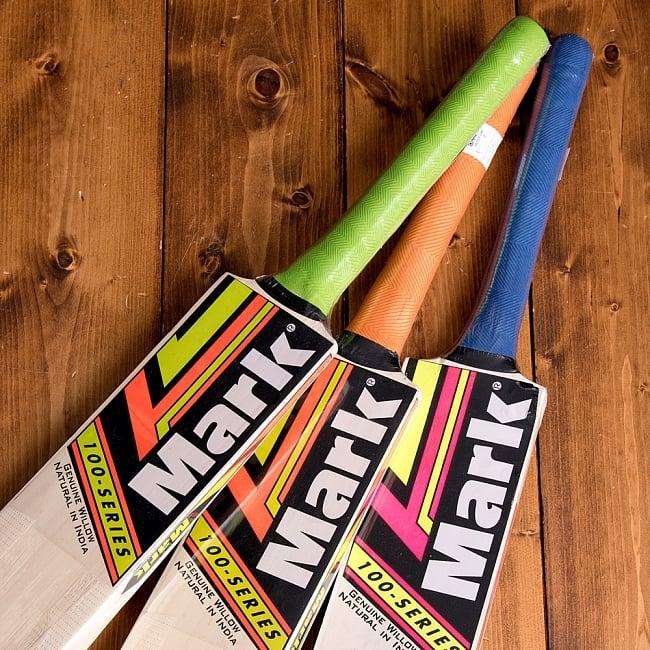 クリケットバット - iDEA SUPER SHOT 10 - ラベルやグリップの色などは商品ごとに異なるためアソートでのお届けとなります*こちらは同ジャンル品の写真です。