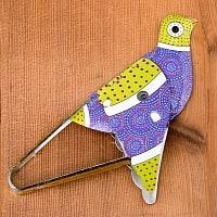 ぴよぴよ鳥 - 紫・緑茶