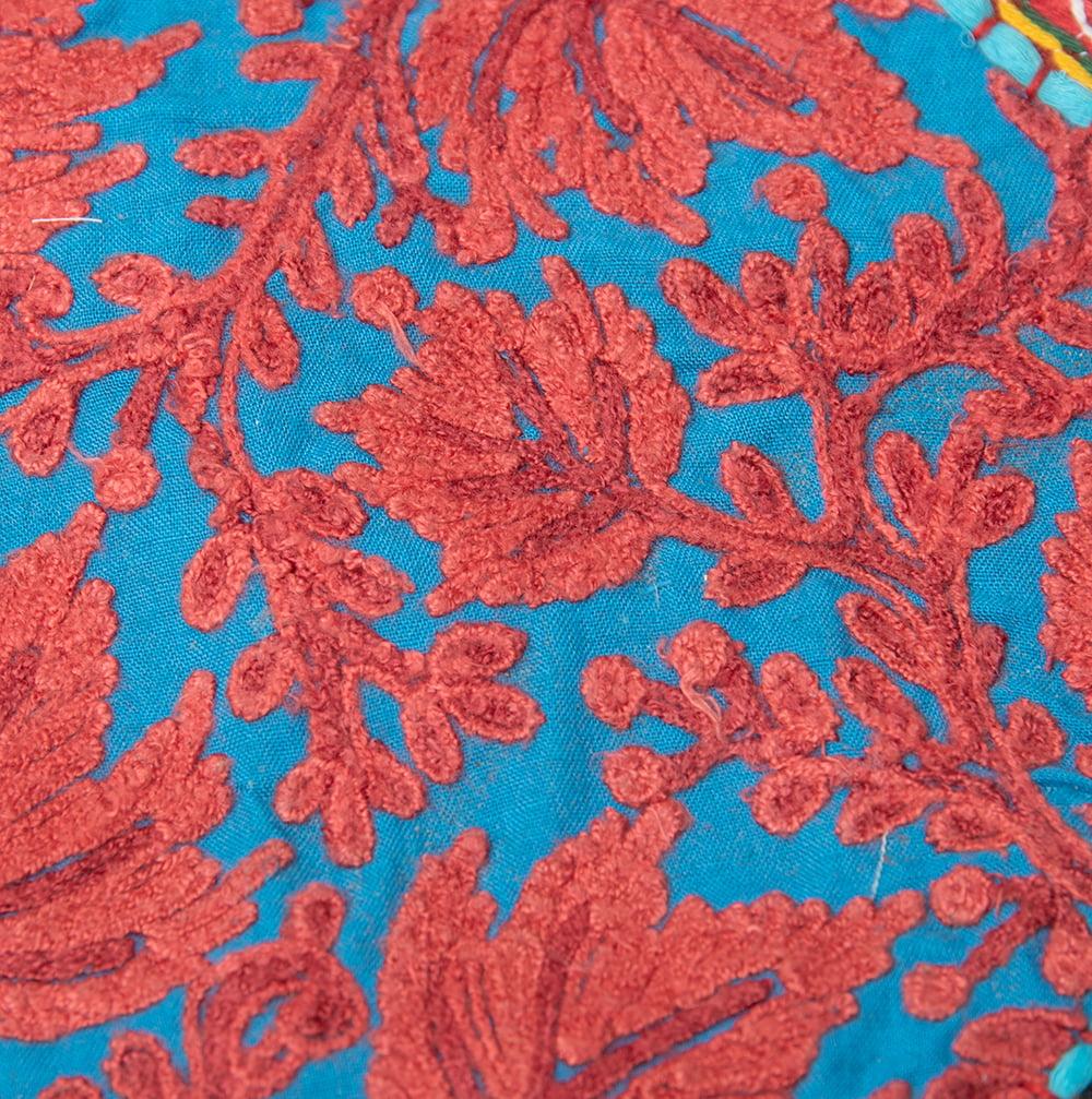 【一点物】砂漠の国のトーラン - 窓・入り口飾り 3 - お送りさせて頂く商品のアップです。丁寧に刺繍が施されています