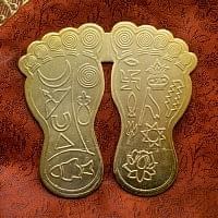 ヴィシュヌの足 (大)
