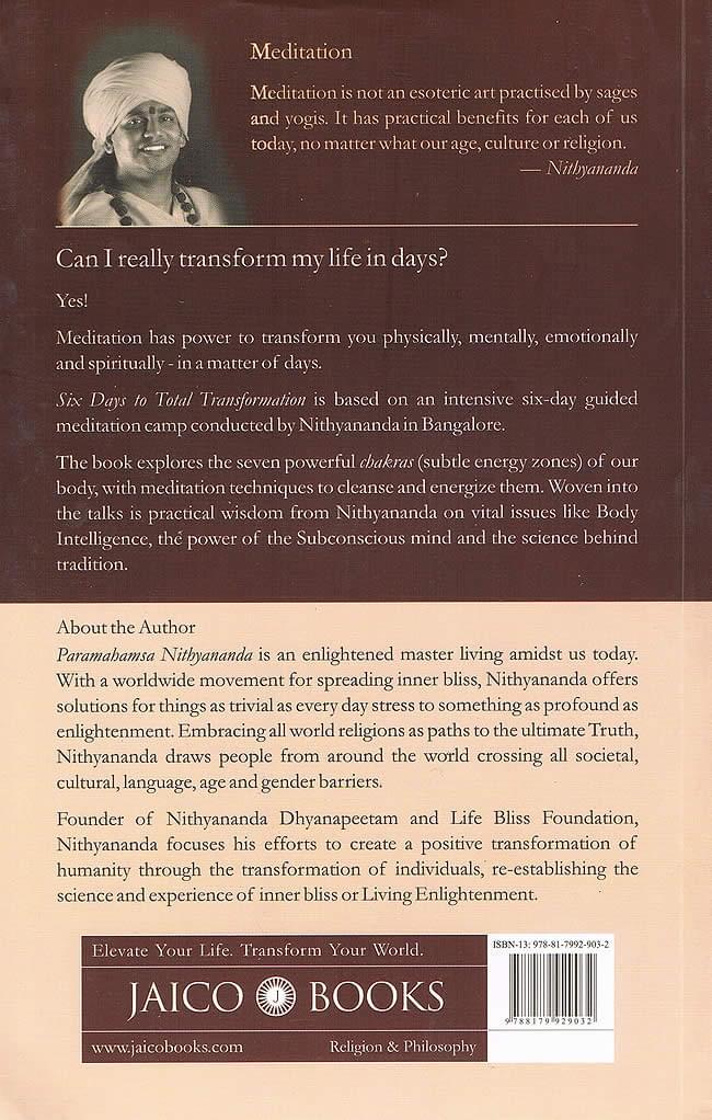 Six Day to Total Transfometion - paramahansa nithyananda 2 -