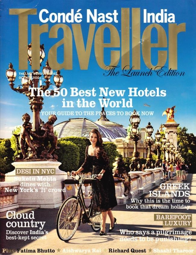 Conde Nast Traveller India創刊号 - 2010年10,11月号の写真