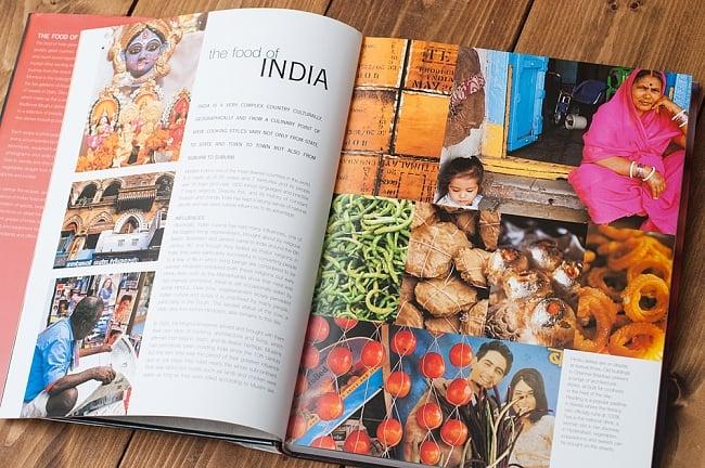 【豪華本】the food of INDIA 5 - インド現地の空気感も伝わってくる一冊です。