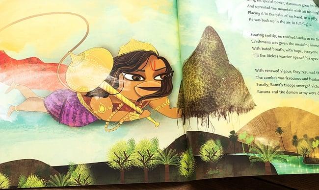 ハヌマーン、ランカ島での冒険(ハヌマーン三部作の第三話) 3 - 内容を一部ご紹介