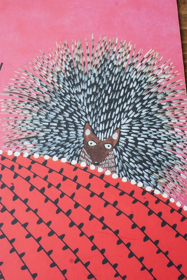 ヤマアラシとはた織り / Hambreelmais Loomの写真3 - 内容を一部ご紹介
