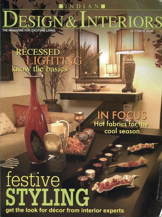 Indian Design&Interiors 2008年10月号の写真1