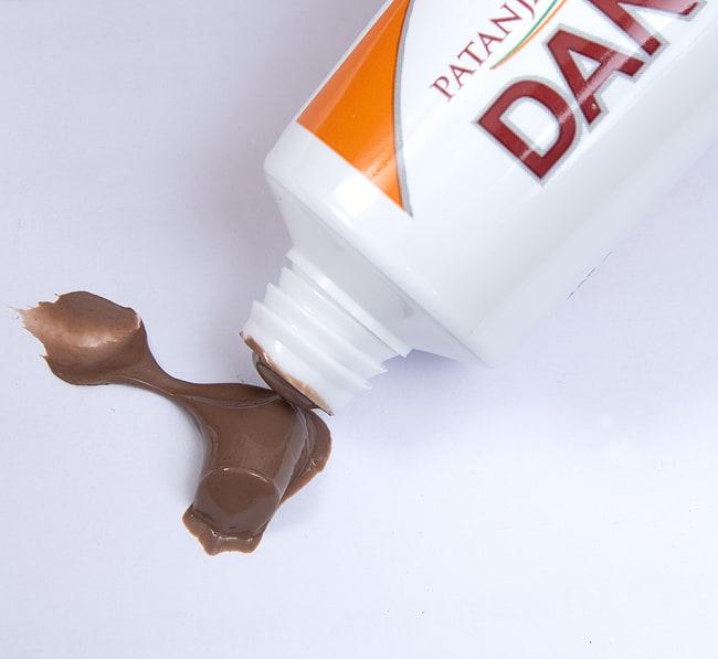 DANT KANTI - ダント・カンティ - アーユルヴェーダ歯磨き粉[100g] 5 - ペーストは茶色っぽい感じです