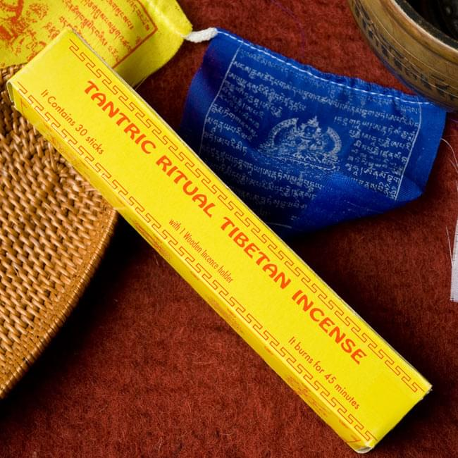 Tantric Ritual Tibetan香の写真