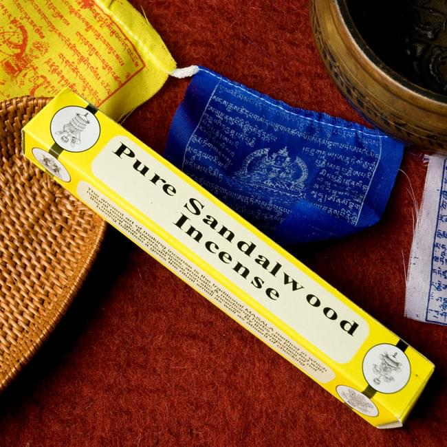 Pure Sandarwood ピュア・サンダルウッドのチベット香の写真
