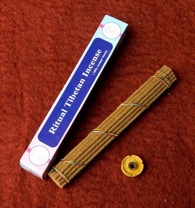 Ritual Tibetan香 2 - 箱の中身はこんな感じです。