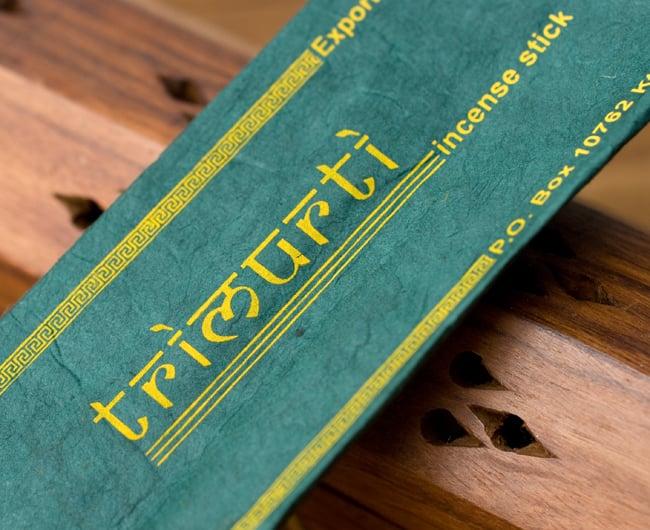 TRIMURTI -トリムルティの写真2 - 商品名の部分を拡大しました