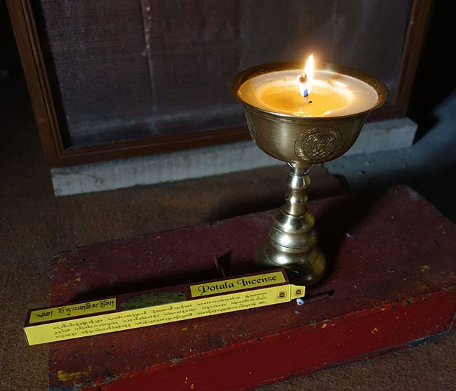 POTALA ポタラインセンスの写真4 - インド、スピティ谷のダンカールゴンパにて、実際に使用されていました