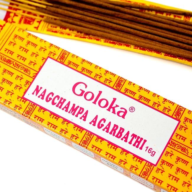 Goloka Nagchampa(16gm BOX タイプ)の写真2 -