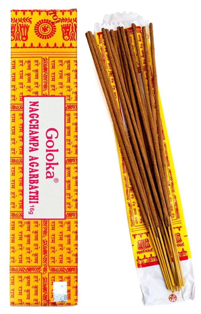 Goloka Nagchampa(16gm BOX タイプ)の写真