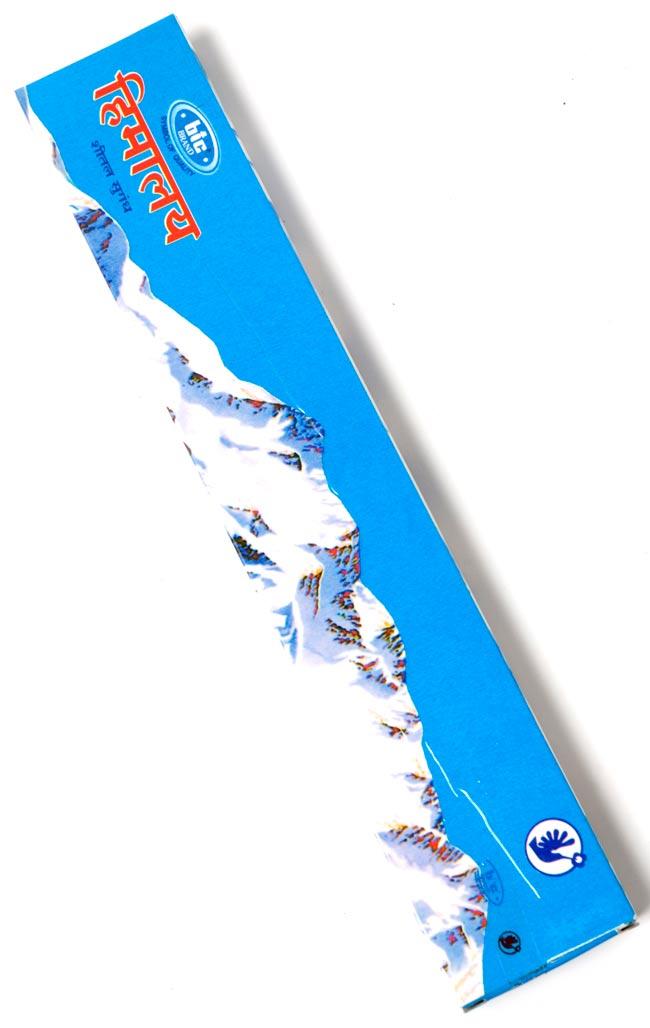 ヒマラヤ・クール・インセンス - Himalaya cool Incenseの写真2 - パッケージ裏面の写真になります