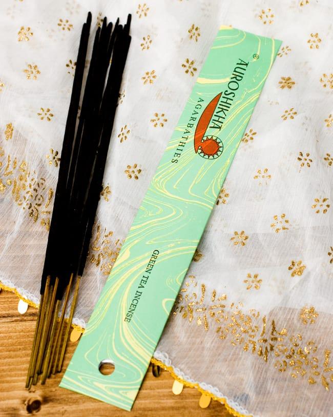 グリーンティー(GREEN TEA)の香り - オウロシカ香の写真