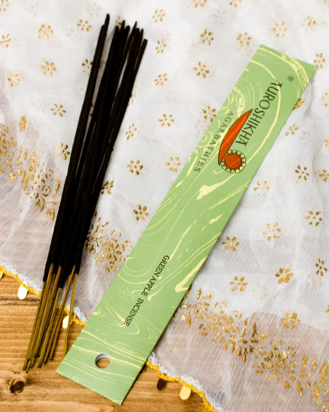 グリーンアップル(GREEN APPLE)の香り - オウロシカ香の写真