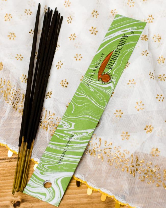 オウロシカ香 - バジリコ(BASILIC)の香りの写真