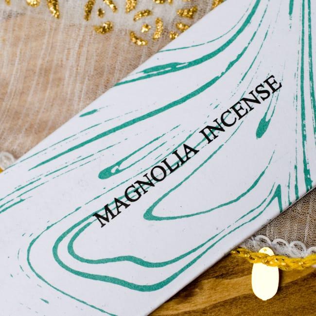マグノリア(MAGNOLIA)の香り - オウロシカ香 2 - 香りの名前はここに記されています。
