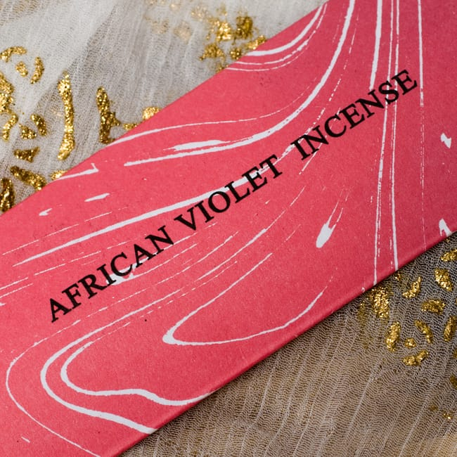 セントポーリア(AFRICAN VIOLET)の香り - オウロシカ香 2 - 香りの名前はここに記されています。