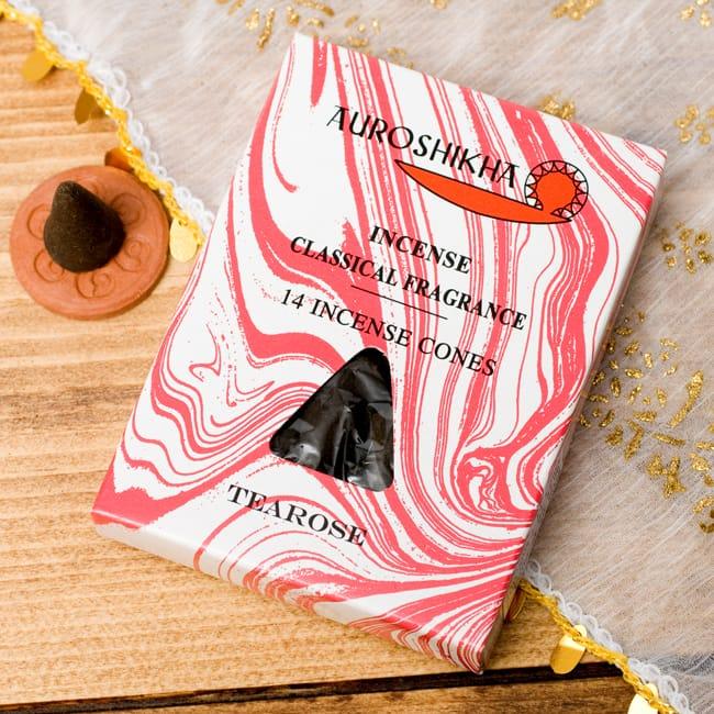 ティーローズ(TEAROSE)の香り - オウロシカコーン香の写真