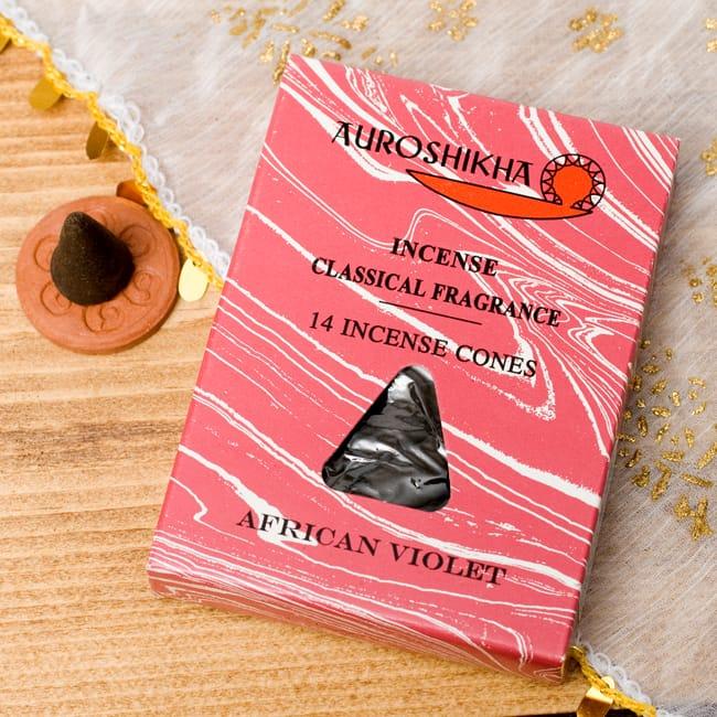 セントポーリア(AFRICAN VIOLET)の香り - オウロシカコーン香の写真