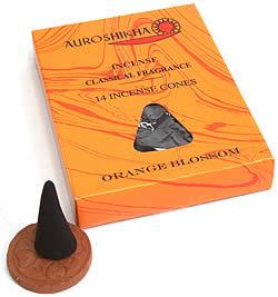 オレンジの花(ORANGE BLOSSUM)の香り - オウロシカコーン香(IND-INS-311)