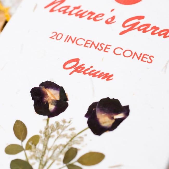 阿片(OPIUM)の香り - オウロシカコーン香の写真2 - オウロシカオリジナルの模様箱です。こちらに香名が記載されています。