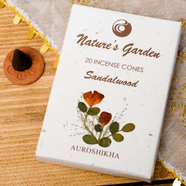 香木[SANDALWOOD]の香り-オウロシカコーン香の写真