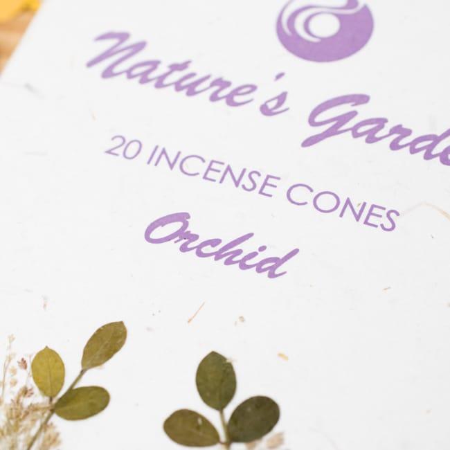 蘭[ORCHID]の香り-オウロシカコーン香 2 - 箱の表紙にある押し花は1つづつ違います。申し訳ありませんがアソートでお送りさせていただきます。