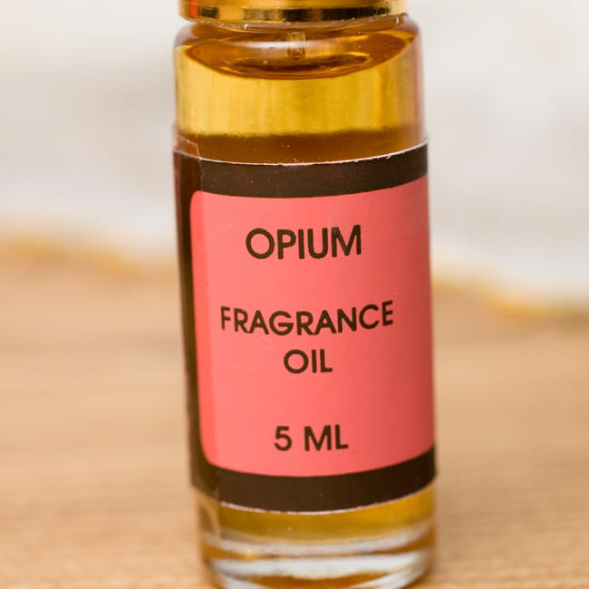 阿片(OPIUM)の香り - オウロシカアロマオイルの写真2 - 香りはこちらに記してあります。